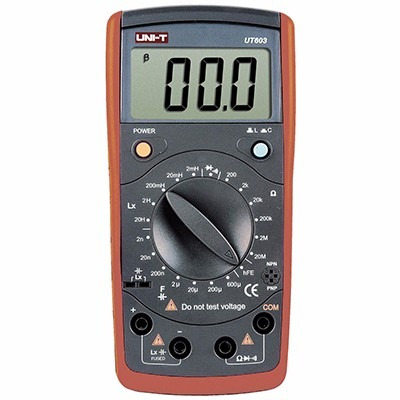 Medidor Lcr 20mohms 600uf 20h Uni-t Ut-603
