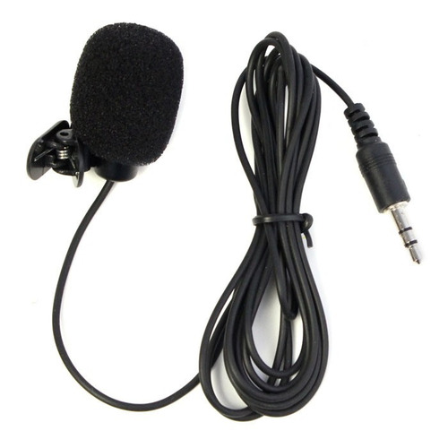 Microfono Lavalier Entrada 3.5mm