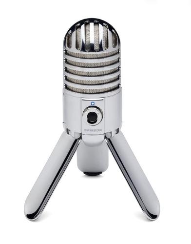 Micrófono Meteor Samson De Condensador Usb