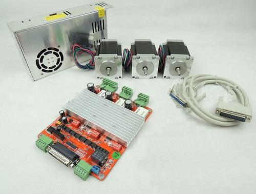 Motores Nema 23 A 30kg 425oz + Kit Cnc 3 Ejes, Router Plasma