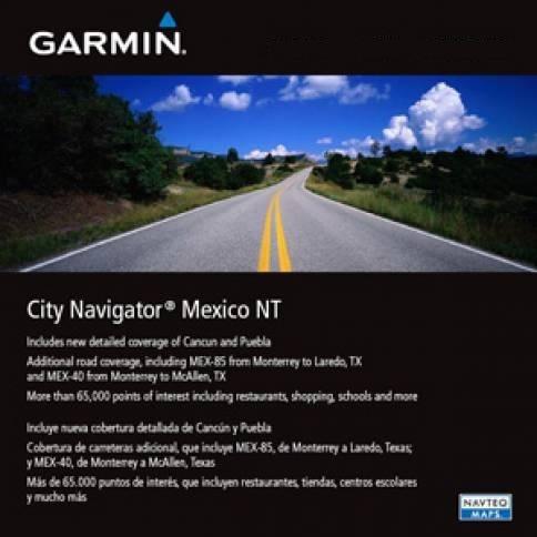 Nuevo Gps Mapa Garmin City Navigator Mexico Nt 2015.10 Nuvi