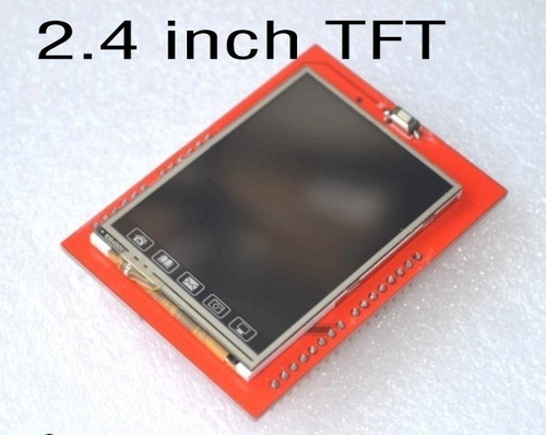 Pantalla Tft 2.4 + Touch Para Arduino Pic Avr Atmega