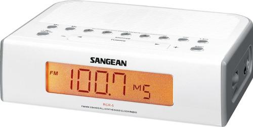Radio Sangean Rcr-5 Digital Am / Fm Reloj Hm4