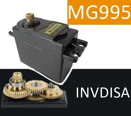 Servomotor Modelo Mg995 15 Kgf.cm Pic, Arduino, Servo