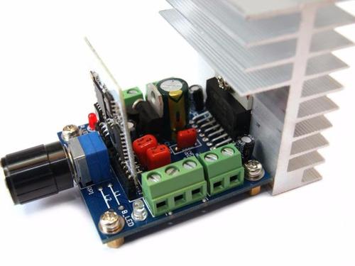 Tarjeta De Audio Amplificado Bluetooth Tda7379bta 50w