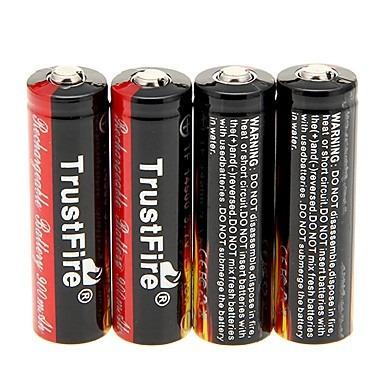 Trustfire Protegida 14500 3.7v 900mah Bateria De Litio